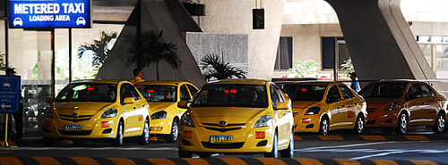 registered airport taxi in manila