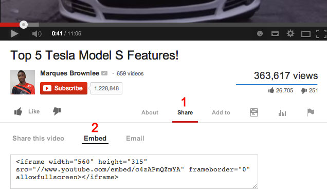 How-to-get-embed-code-Youtube-Step-3
