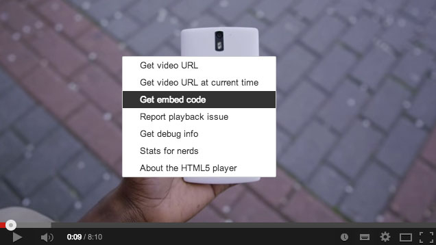 How-to-get-embed-code-in-YouTube-Step-1