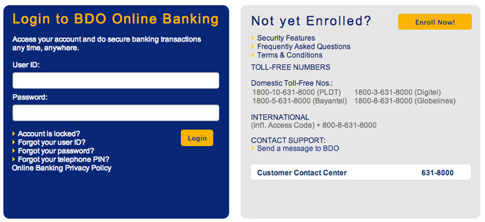 BDO-Online-Pay-Smart-Bills-Online-Step-1