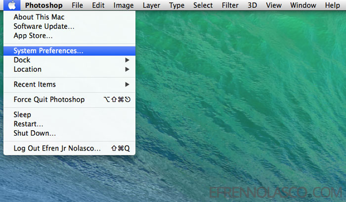 disable-startup-application-in-Mac-step-1