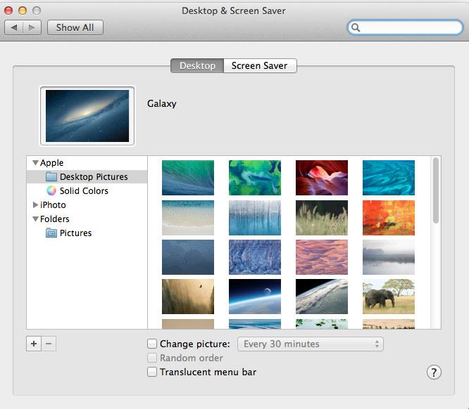 Change Desktop background on Mac-Step-2