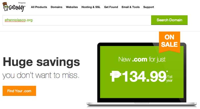 How to buy domain in Godaddy