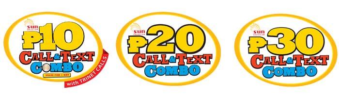 Sun Call and Text Combo