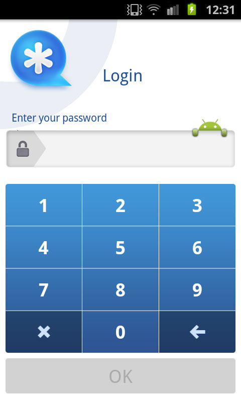 add password to your private facebook conversation