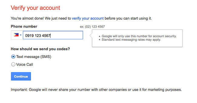 create email account gmail 3