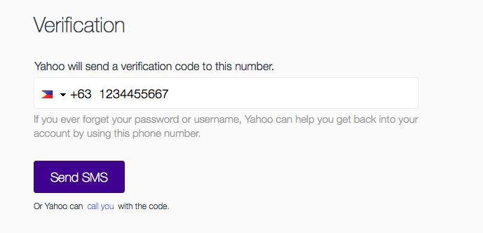 create email account yahoo 2