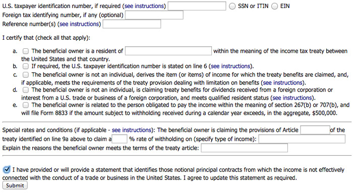 How-to-fill-out-Hostgator-tax-form-W8-BEN-3