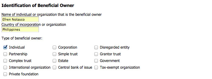 How-to-fill-out-Hostgator-tax-form-W8-BEN