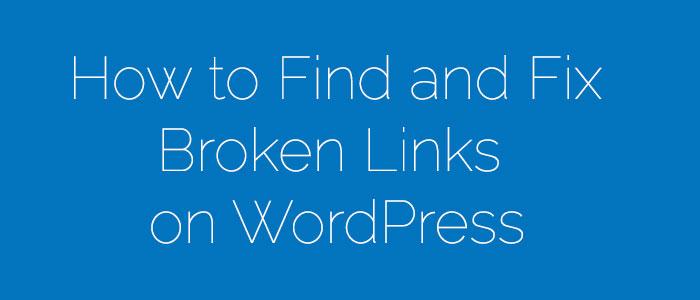 Detect-and-Fix-Broken-Links-on-WordPress-Website