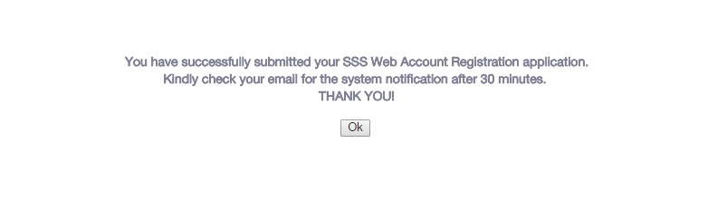SSS Contribution check step 6