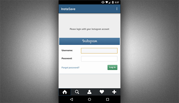 How to save instagram photos using instasave 2