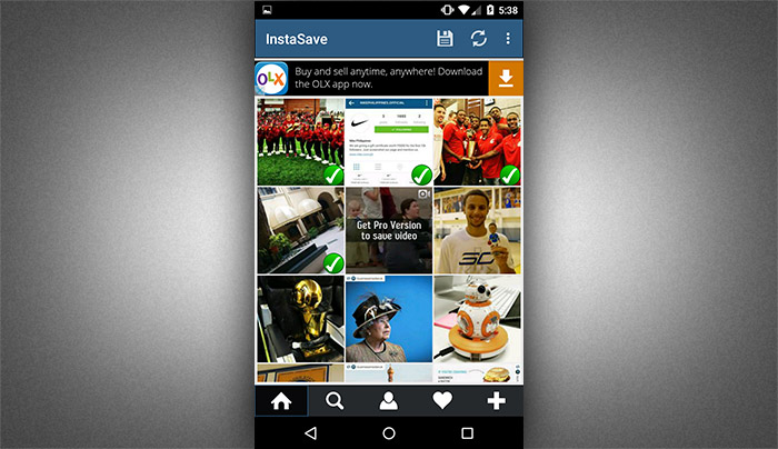 How to save instagram photos using instasave 3