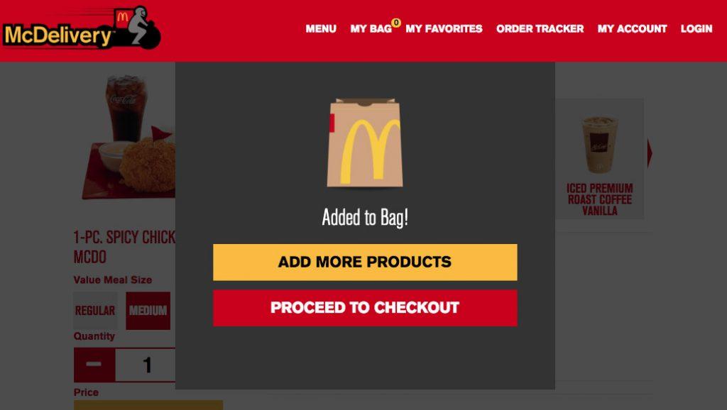 mcdo-delivery-checkout
