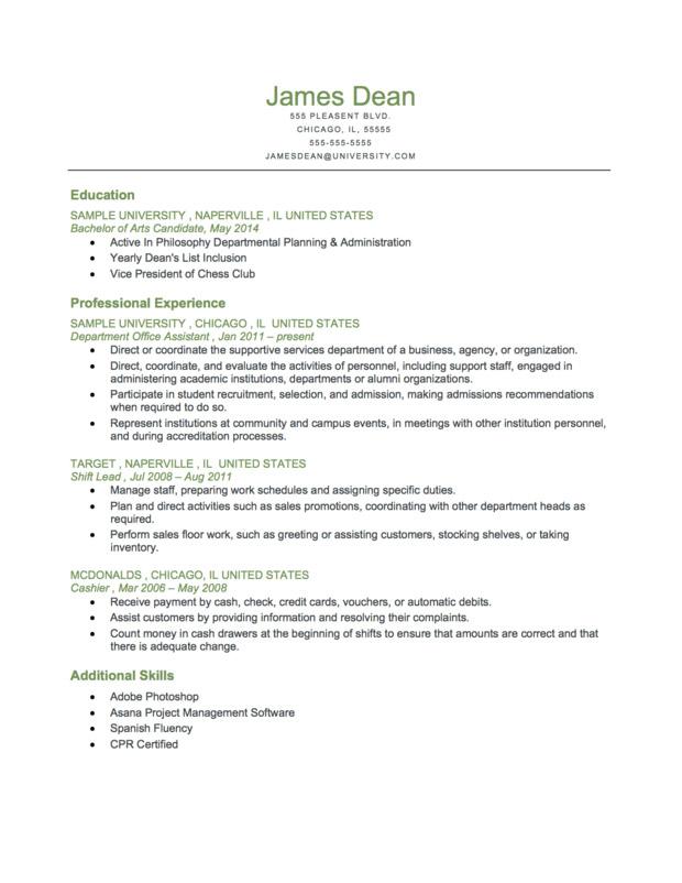 Chronological-Resume