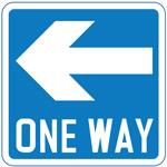 Information traffic Sign