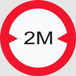 Vehicles more than 2 meters cannot enter