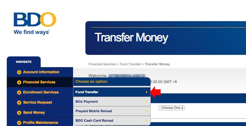 BDO-Fund-Transfer-Online