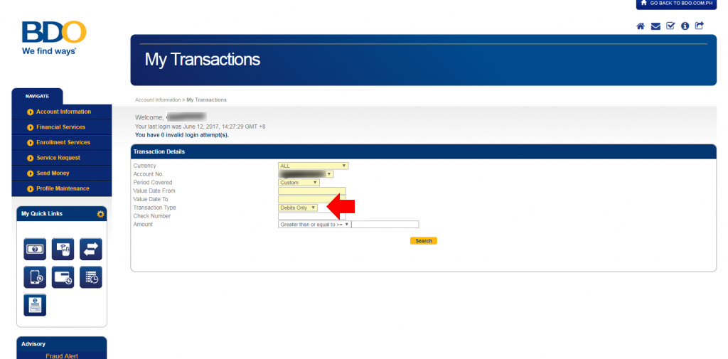 BDO-Transactions-Debits Only