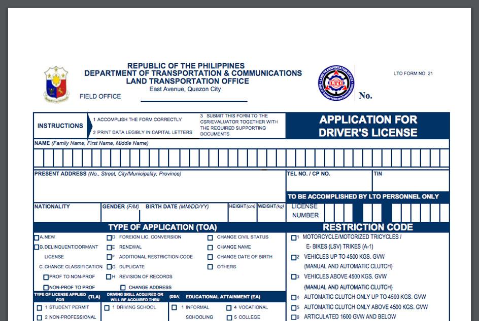 LTO-Drivers-License-Renewal-Form