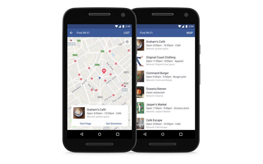 Facebook-Wifi-Locator