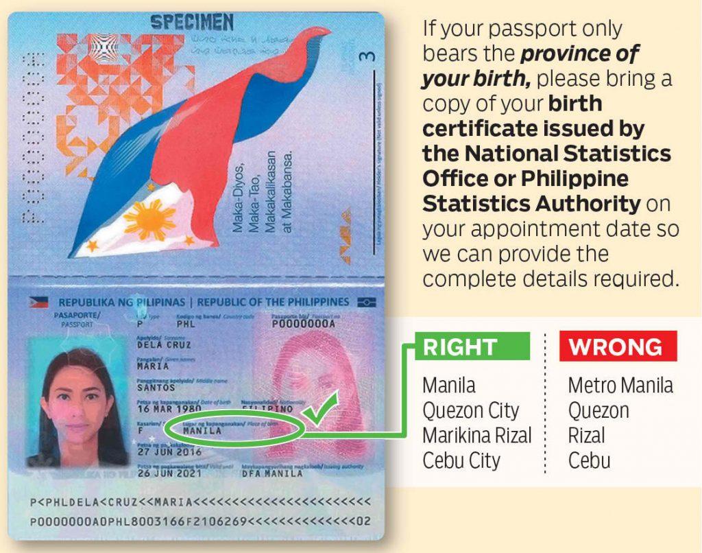 Correct-Passport-Data