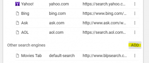 Manage Search Engine