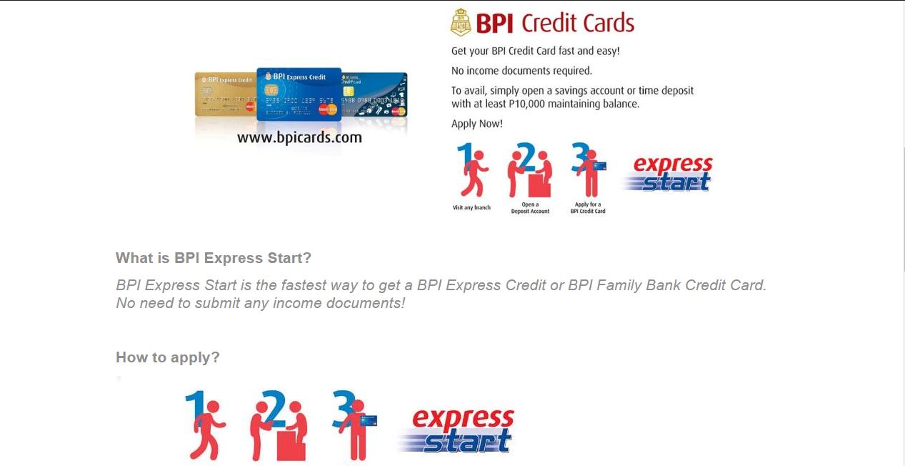BPI Cedit Card