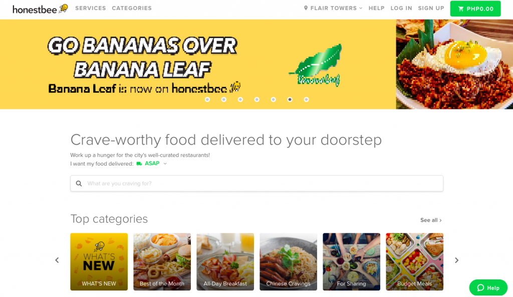 Chooks to go delivery honestbee