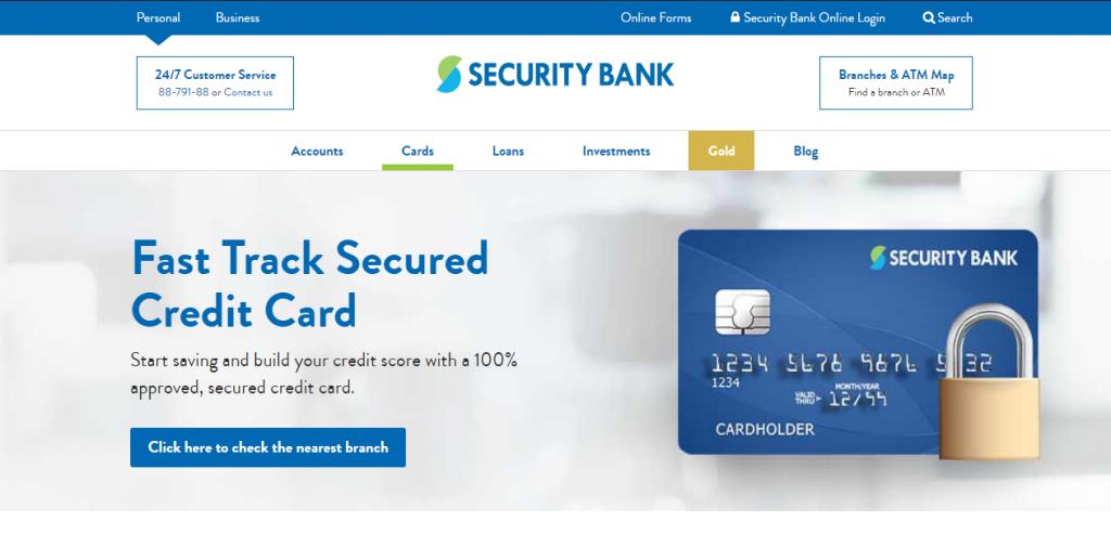 Security bank Credit Card