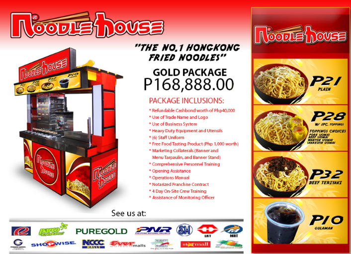 Noodle House Affordable franchise