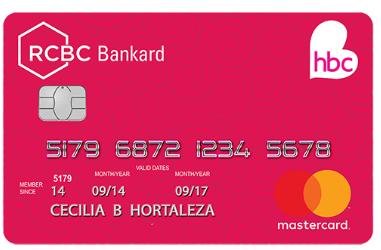 HBC-RCBC Bankard Mastercard - RCBC