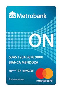 Metrobank ON Internet Mastercard - Metrobank