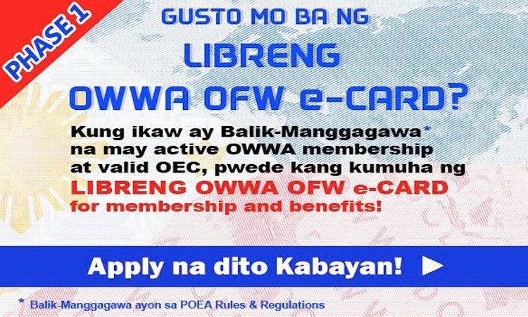 OWWA E-CARD