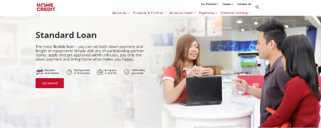 Home Credit Loan, standard Loan