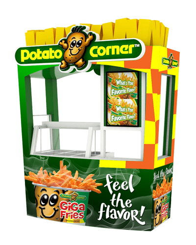 Standard Cart Package Potato Corner Franchise
