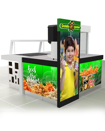 Potato Corner Kiosk