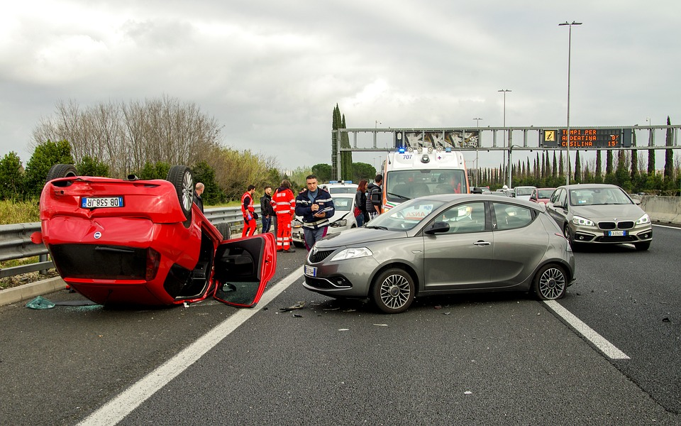 File for a car insurance claim when you get into an accident